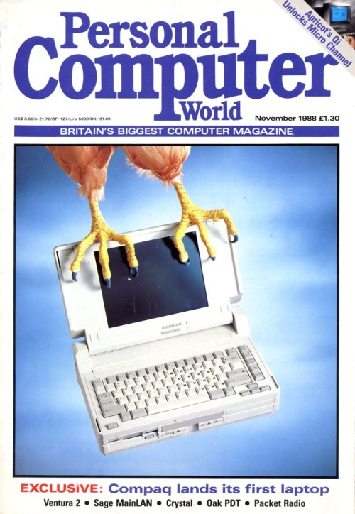 Scan of Document: Personal Computer World - November 1988