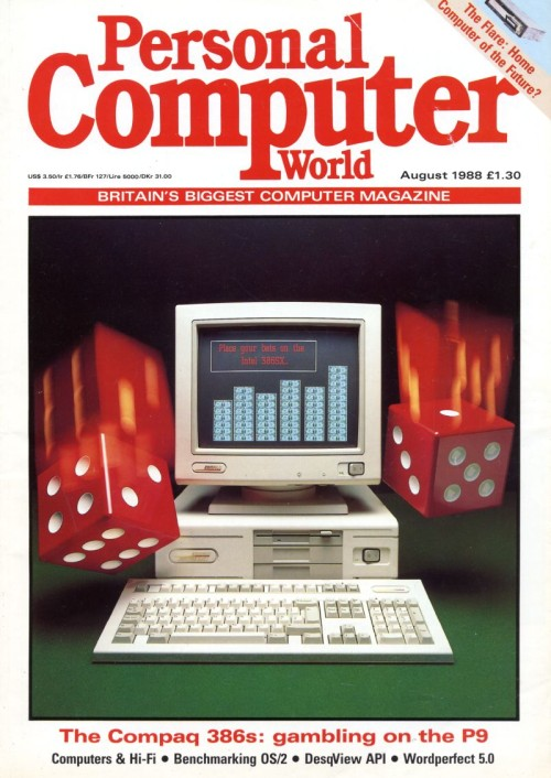 Scan of Document: Personal Computer World - August 1988