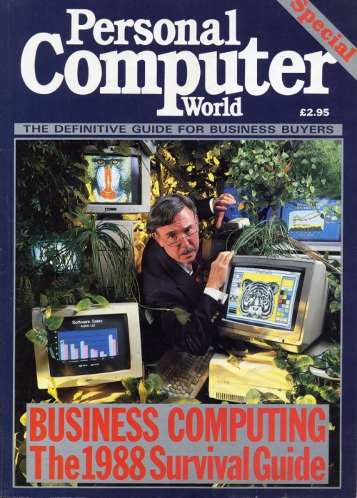 Scan of Document: Personal Computer World - 1988 Business Supplement