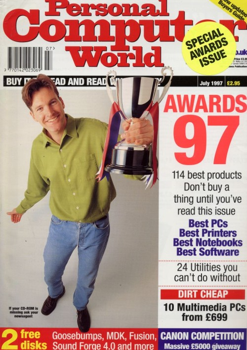 Scan of Document: Personal Computer World - July 1997