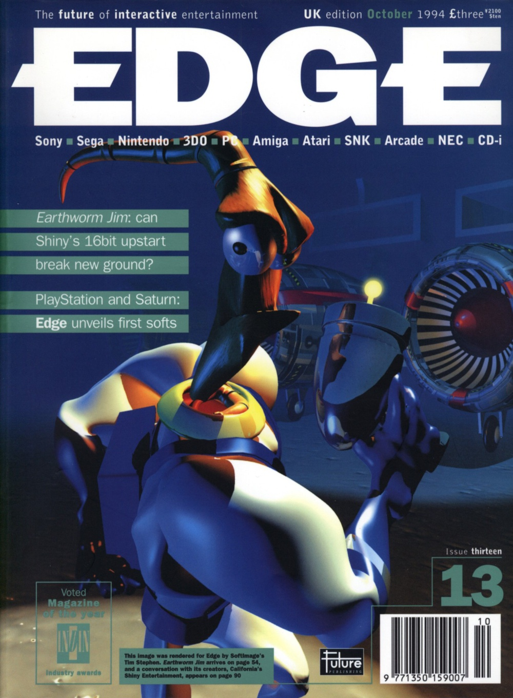 Scan of Document: Edge - Issue 13 - October 1994