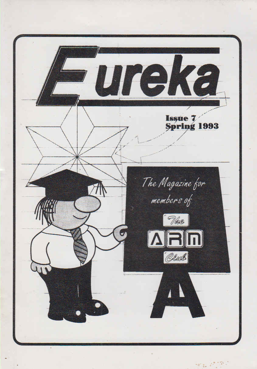 Article: Eureka - Issue 07 Spring 1993