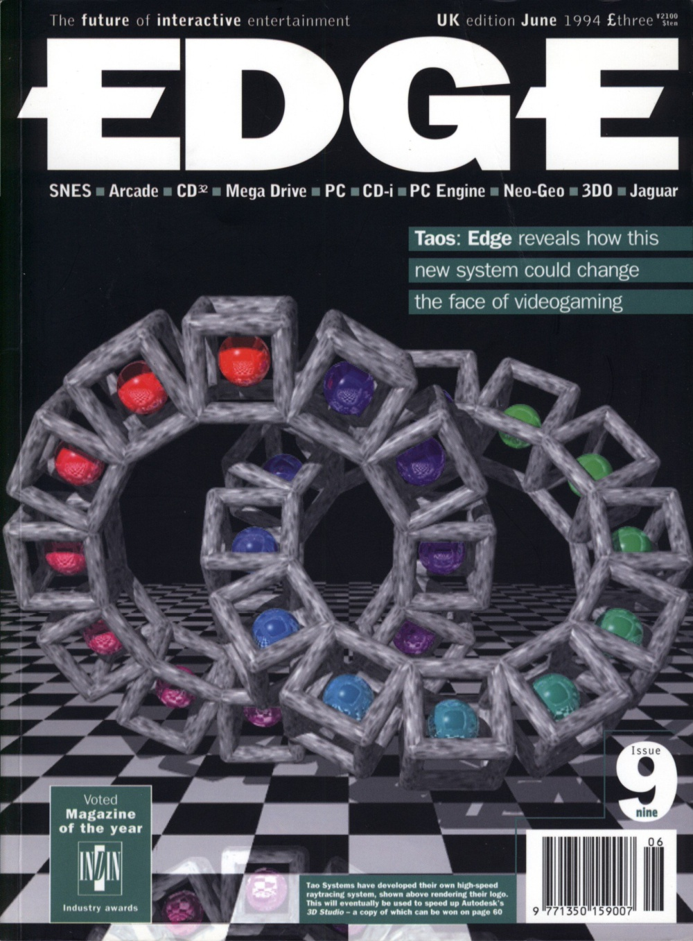 Edge - Issue 9 - June 1994 Magazine - Computing History