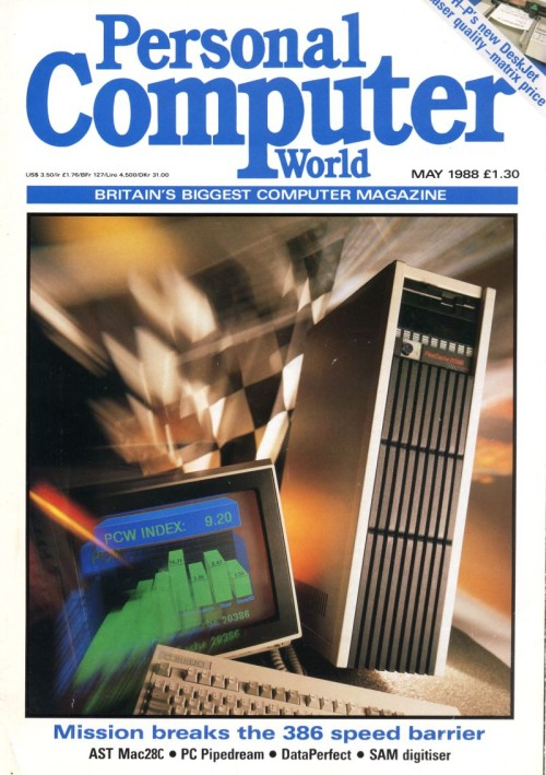 Scan of Document: Personal Computer World - May 1988