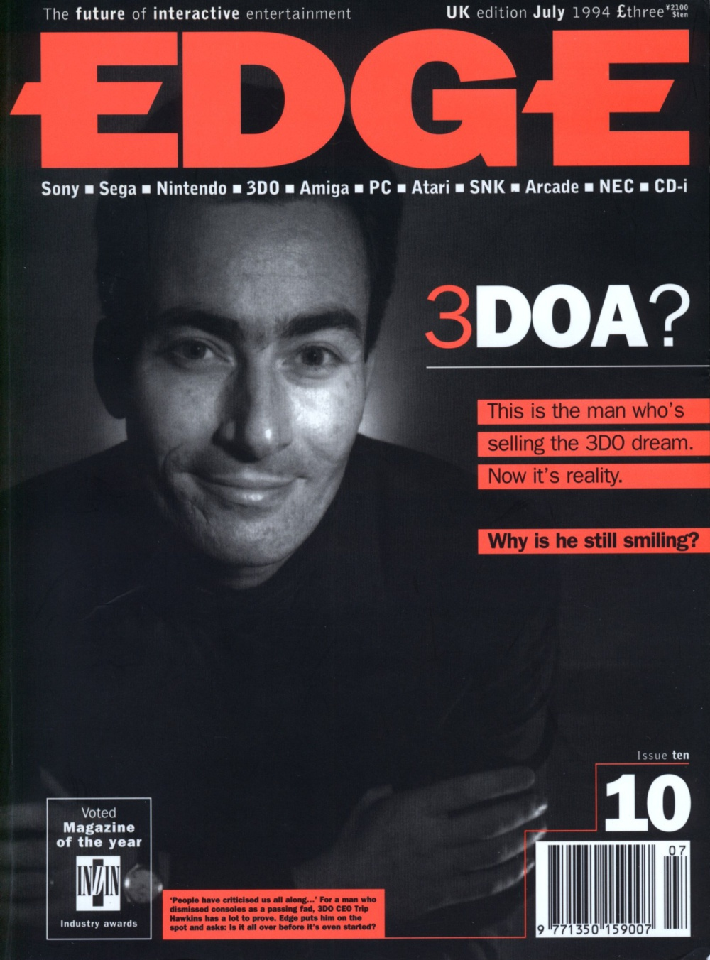 Scan of Document: Edge - Issue 10 - July 1994