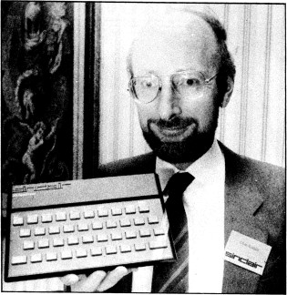 Photograph of Clive Sinclair