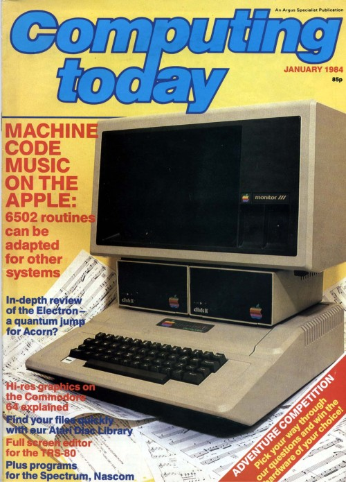 Scan of Document: Computing Today - January 1984