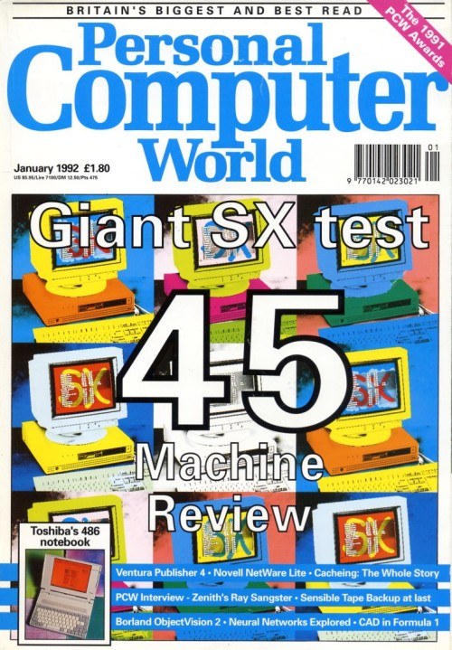 Scan of Document: Personal Computer World - January 1992
