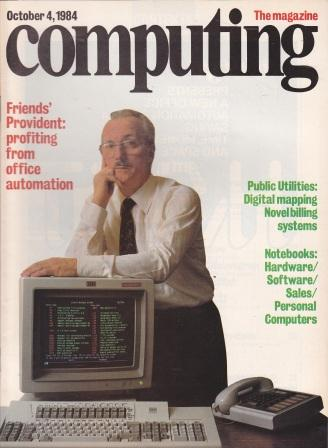 Scan of Document: Computing The Magazine - 4 October 1984