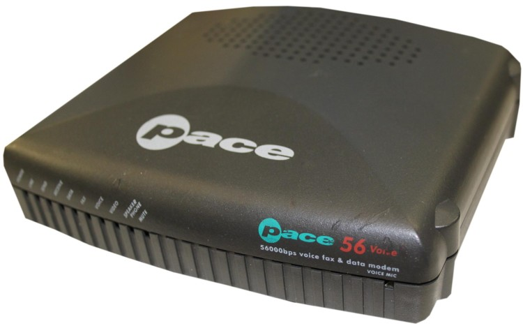 Scan of Document: Pace 56 Voice Modem