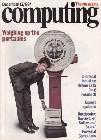 Scan of Document: Computing The Magazine - 13 December 1984