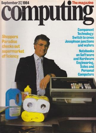 Scan of Document: Computing The Magazine - 27 September 1984