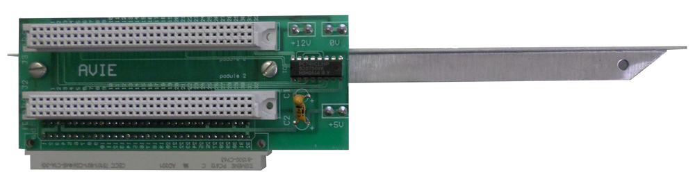 Scan of Document: AVIE A300 2 Slot Backplane
