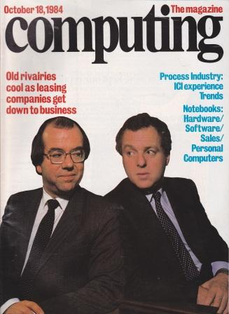 Scan of Document: Computing The Magazine - 18 October 1984