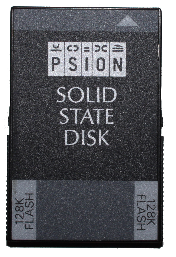 Scan of Document: Psion 128k Solid State Disk (SSD)