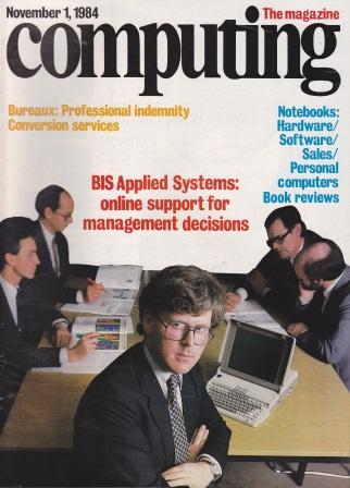Scan of Document: Computing The Magazine - 01 November 1984