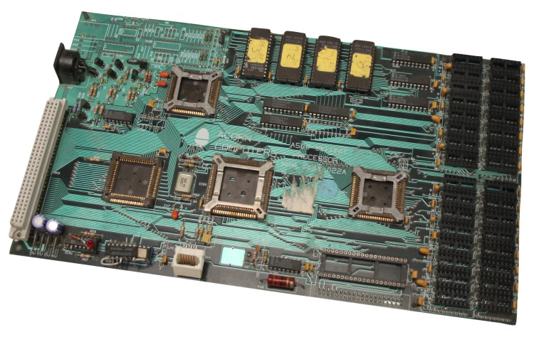Scan of Document: Acorn A500 Second Processor - Development Board