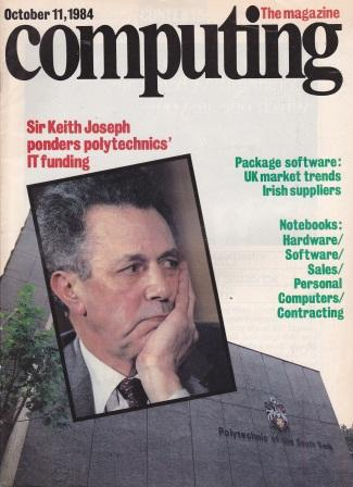Scan of Document: Computing The Magazine - 11 October 1984