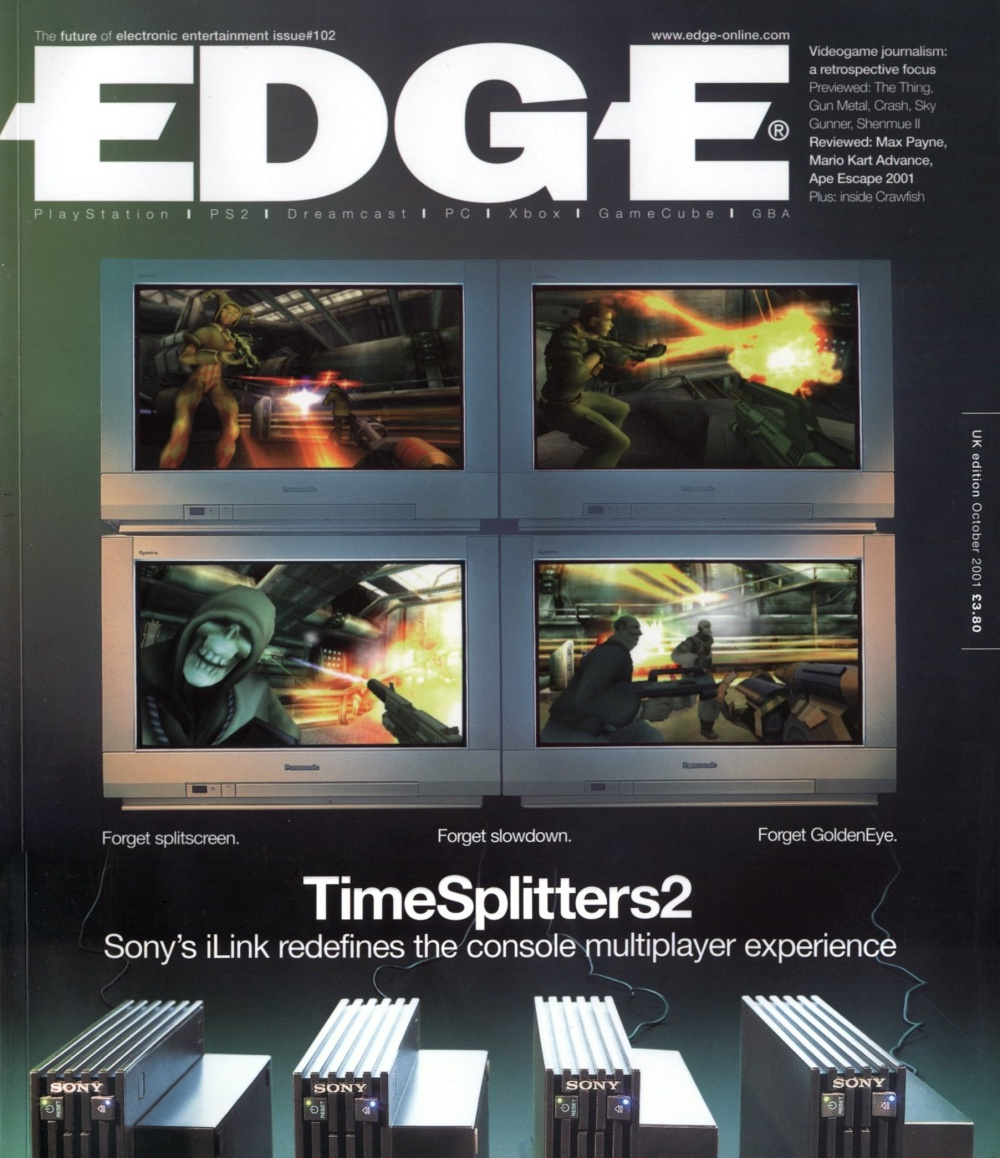 Scan of Document: Edge - Issue 102 - October 2001