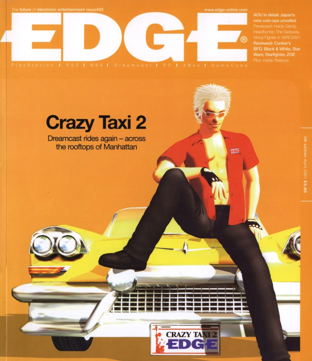 Scan of Document: Edge - Issue 96 - April 2001