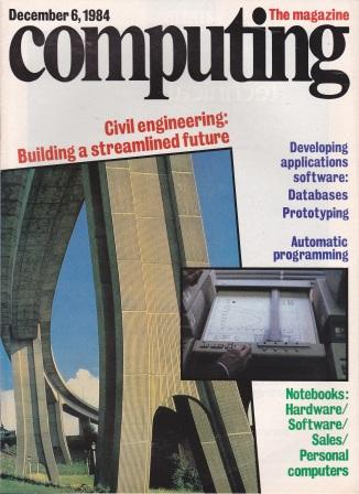 Scan of Document: Computing The Magazine - 6 December 1984