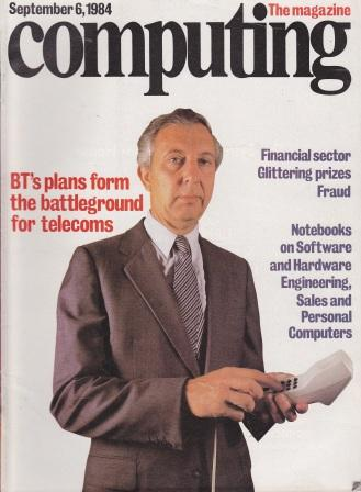 Scan of Document: Computing The Magazine - 6 September 1984