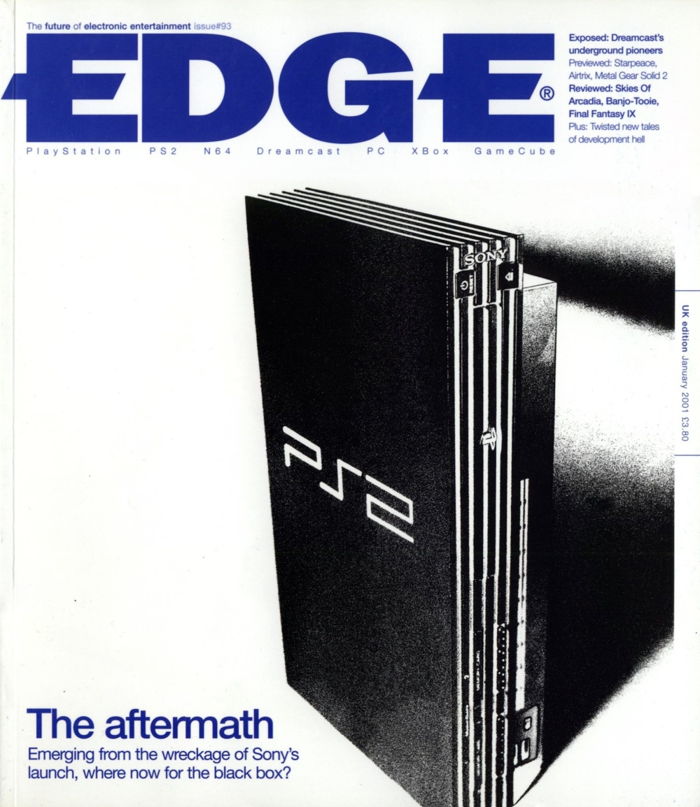 Scan of Document: Edge - Issue 93 - January 2001