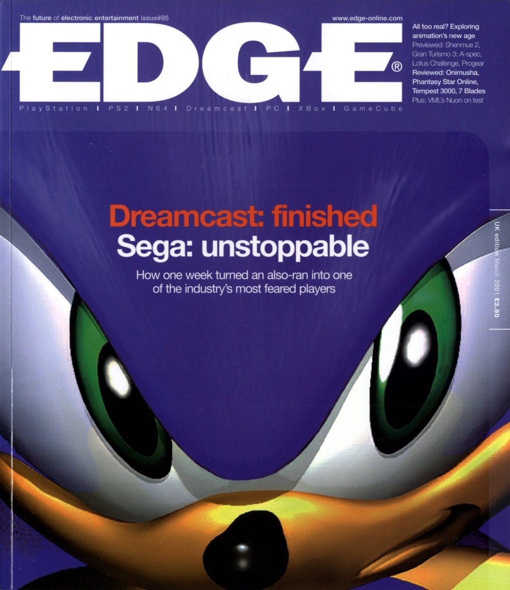 Scan of Document: Edge - Issue 95 - March 2001