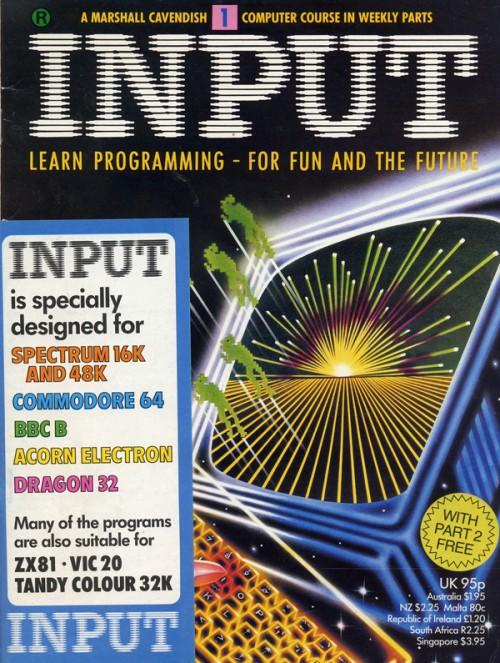 Scan of Document: Input - Issue 1
