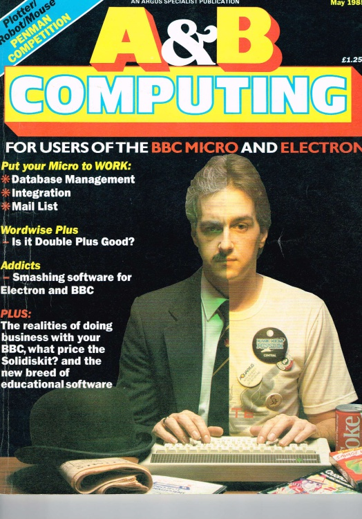 Scan of Document: A&B Computing -  May 1985