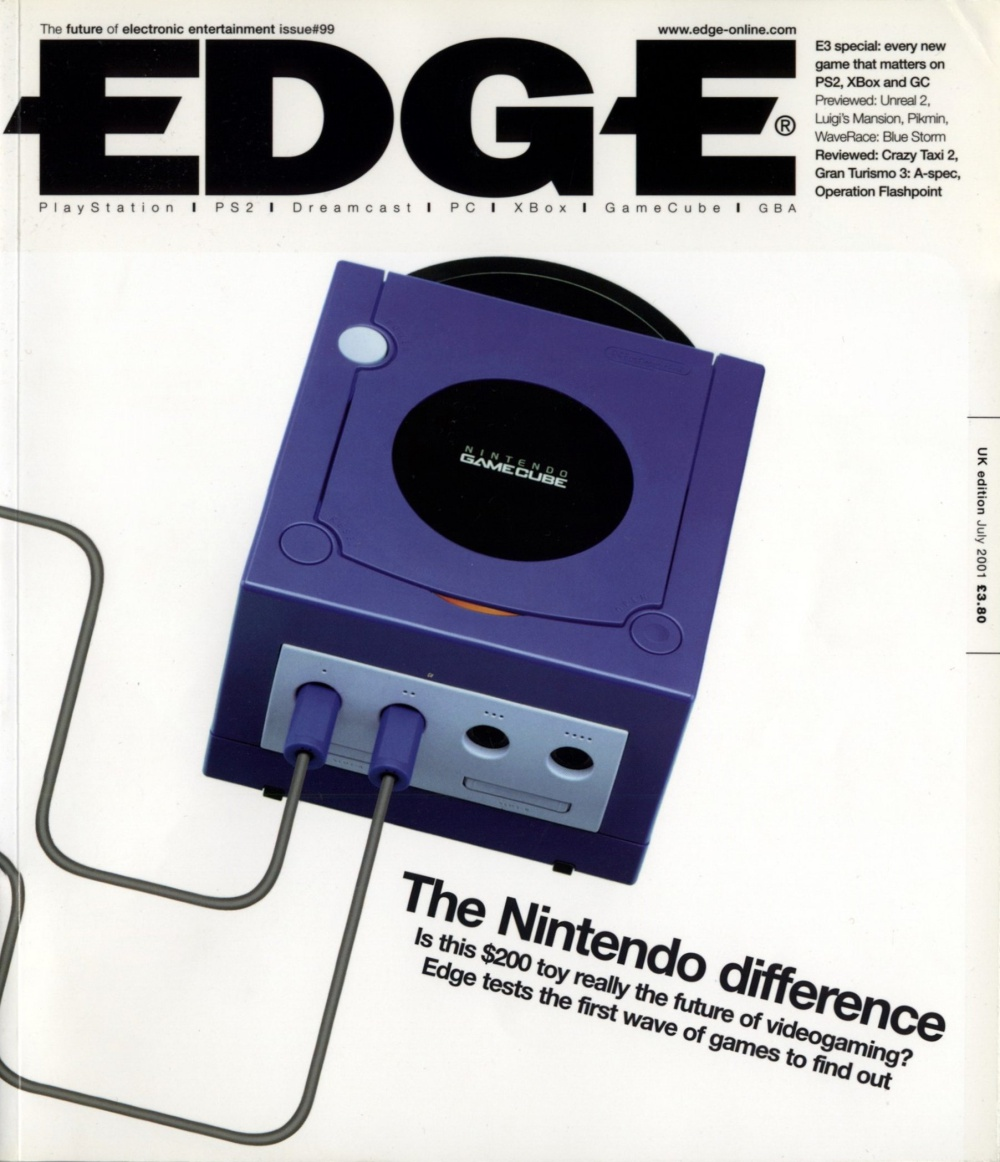 Scan of Document: Edge - Issue 99 - July 2001