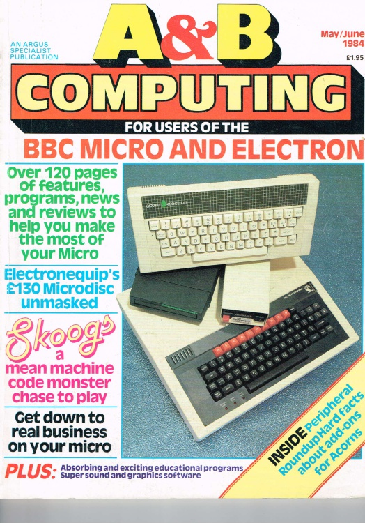 Scan of Document: A&B Computing - May/June 1984