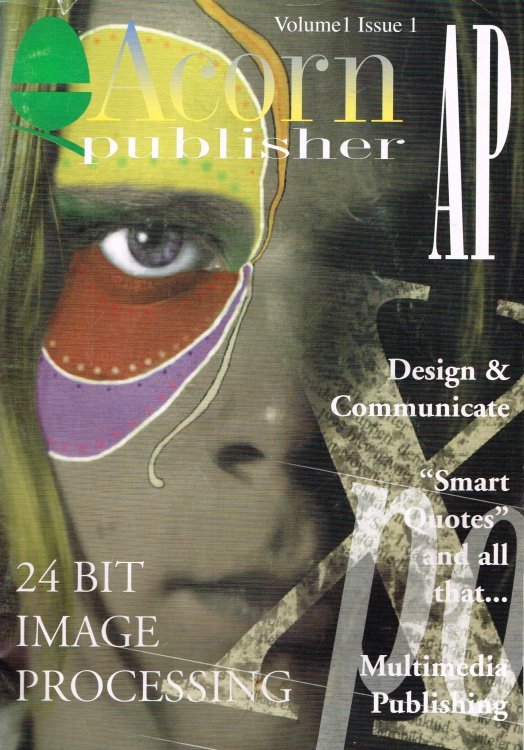 Scan of Document: Acorn Publisher - Volume 1, Issue 1 (October 1994)