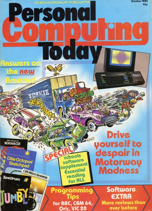 Scan of Document: Personal Computing Today - October 1984