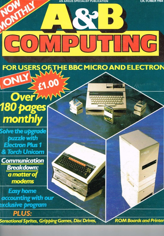 Scan of Document: A&B Computing - October 1984