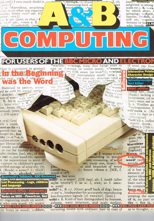Scan of Document: A&B Computing - November 1985