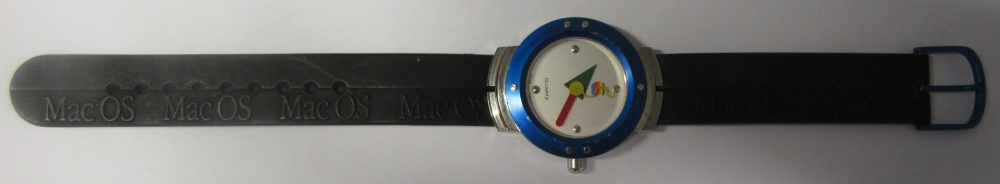 Scan of Document: Apple Mac OS Promotional Watch