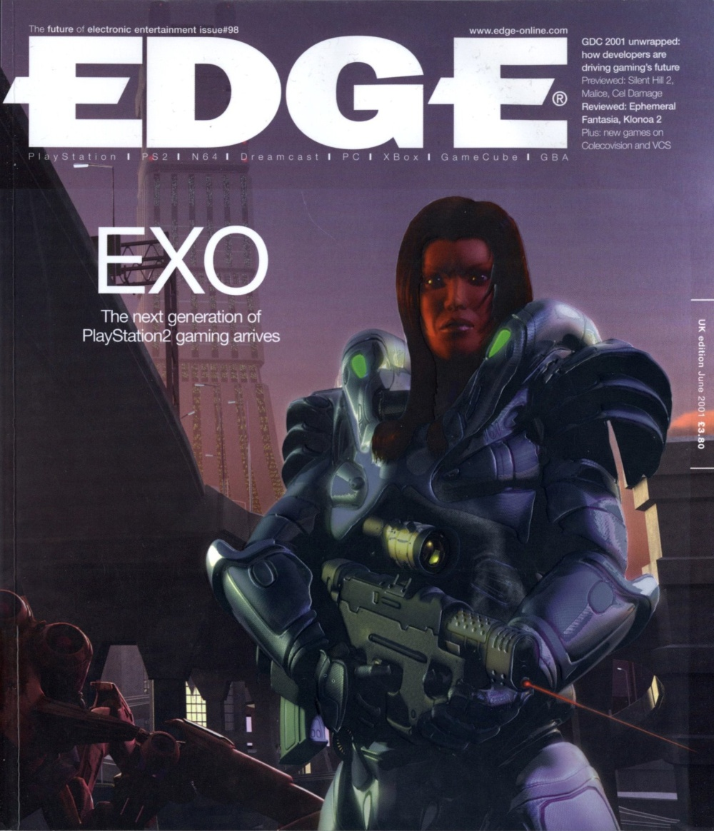 Scan of Document: Edge - Issue 98 - June 2001