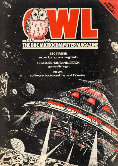 Scan of Document: OWL Issue 1 - June 1982