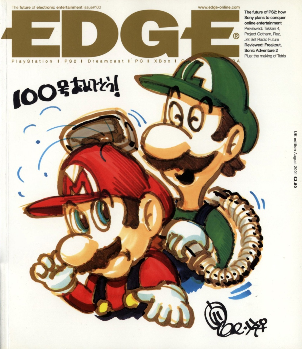 Scan of Document: Edge - Issue 100 - August 2001