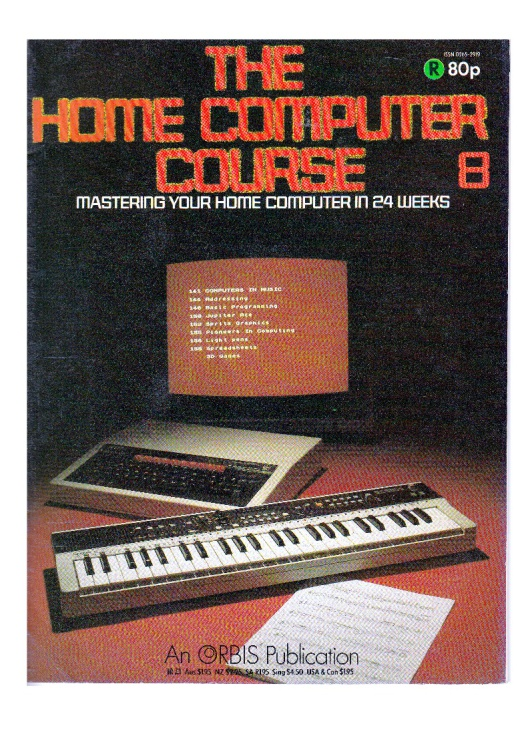 Scan of Document: The Home Computer Course - Issue 8
