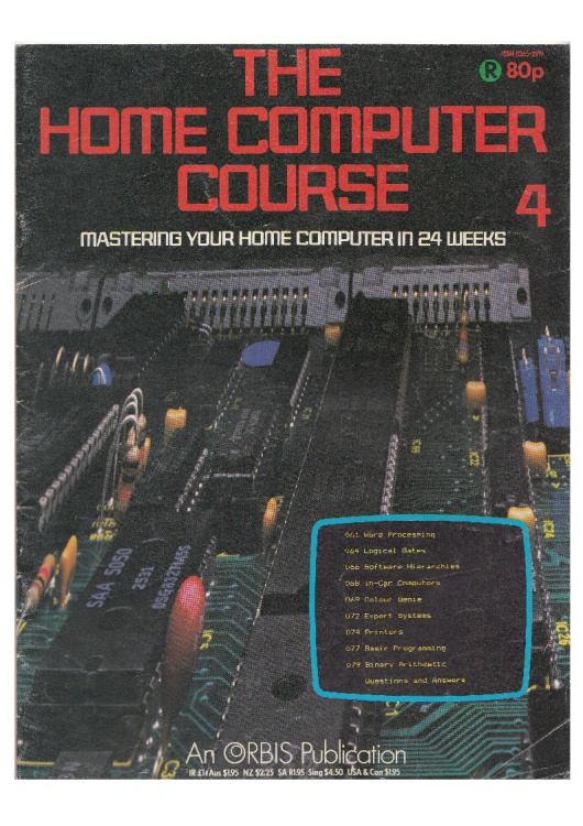 Scan of Document: The Home Computer Course - Issue 4 (B)