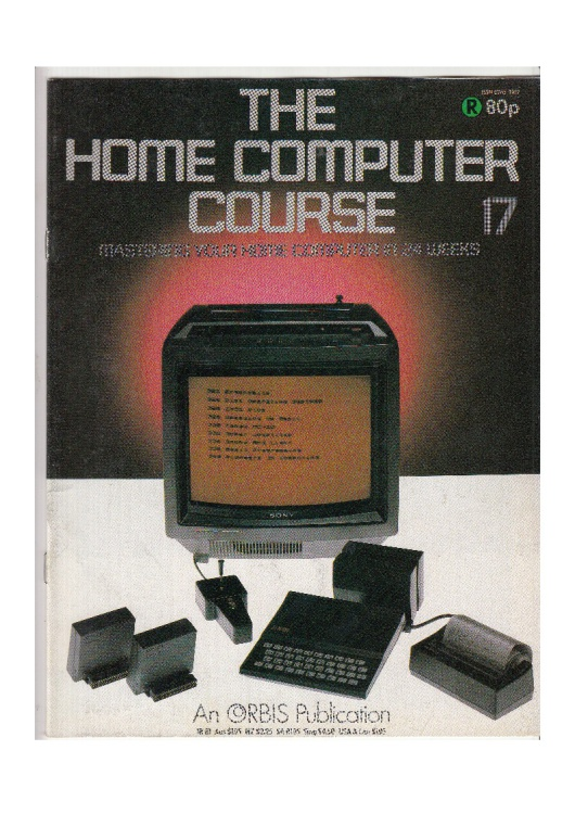 Scan of Document: The Home Computer Course - Issue 17