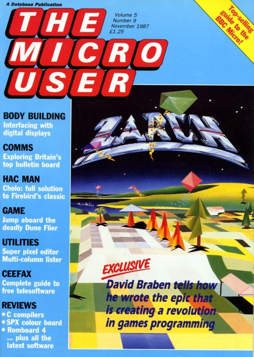 Scan of Document: The Micro User - November 1987 - Vol 5 No 9