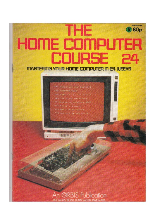 Scan of Document: The Home Computer Course - Issue 24