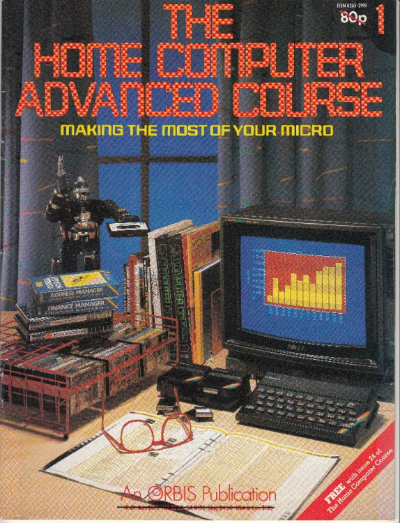 Scan of Document: The Home Computer Advanced Course - Issues 1-12