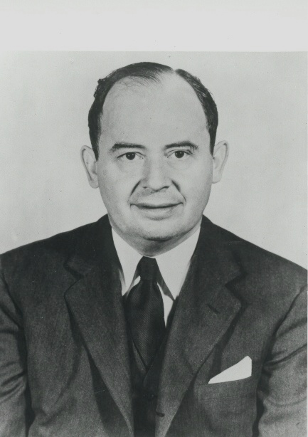 Photograph of John von Neumann