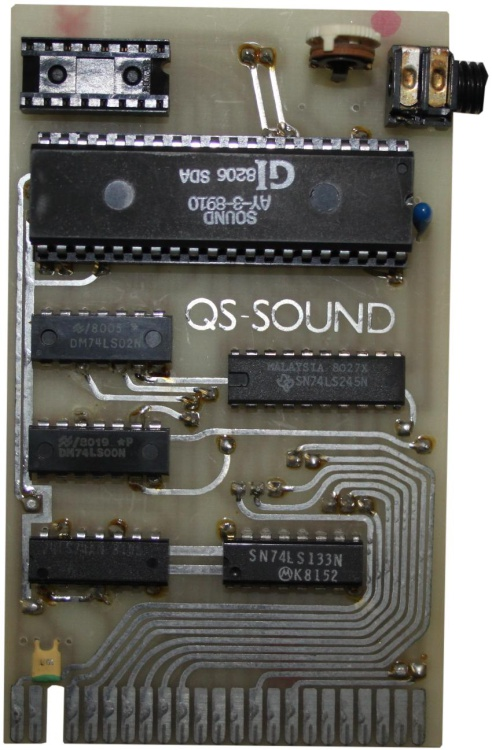 Scan of Document: Sinclair ZX81 QS-Sound