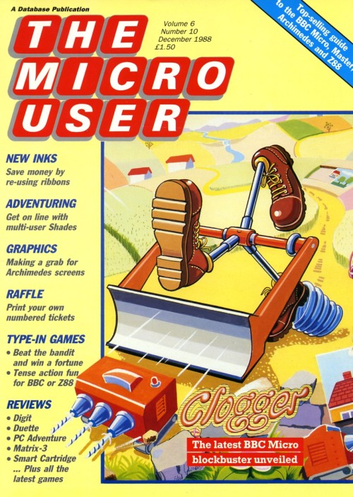 Scan of Document: The Micro User - December 1988 - Vol 6 No 10
