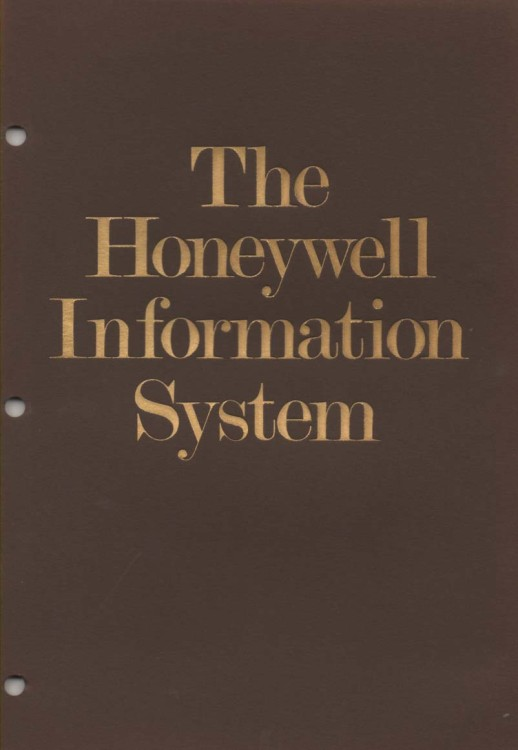 Scan of Document: Honeywell Information System